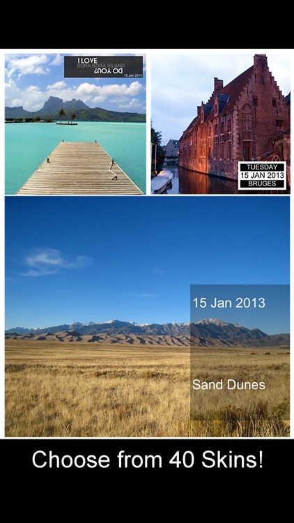 Place and Beautiful Travel Postcards - location based photo app