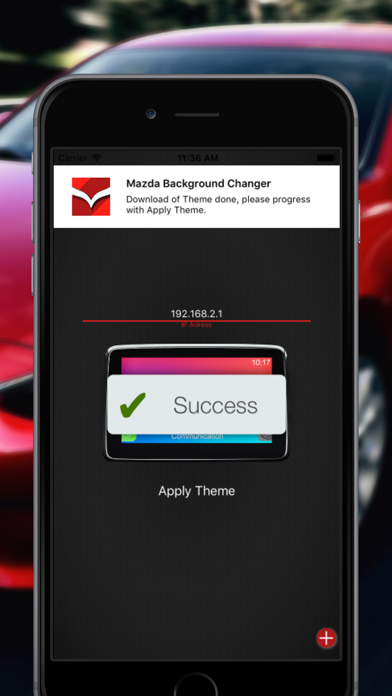 MZD Theme - for Mazda Infotainment System by Fabian Boulegue (iOS