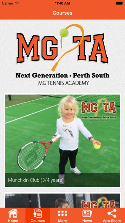 MG Tennis Academy screenshot-4