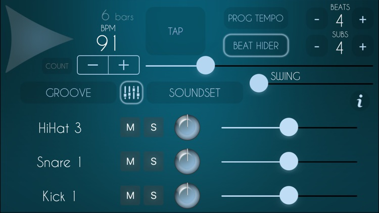 SuperMetronome Groovebox Pro - Drum Machine screenshot-4