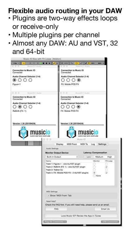 musicIO: Audio and MIDI over USB screenshot-3