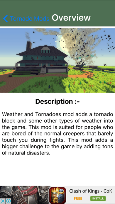 TORNADO MOD - Tornado Mod For Minecraft Game PC Pocket Guide Editionのおすすめ画像3
