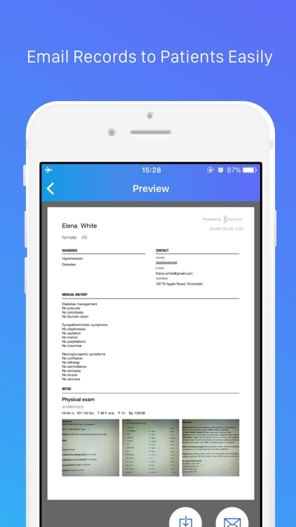MedClipper – medical record clinic EMR mobile EHR