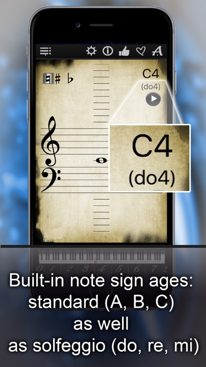 Piano Notes Finder