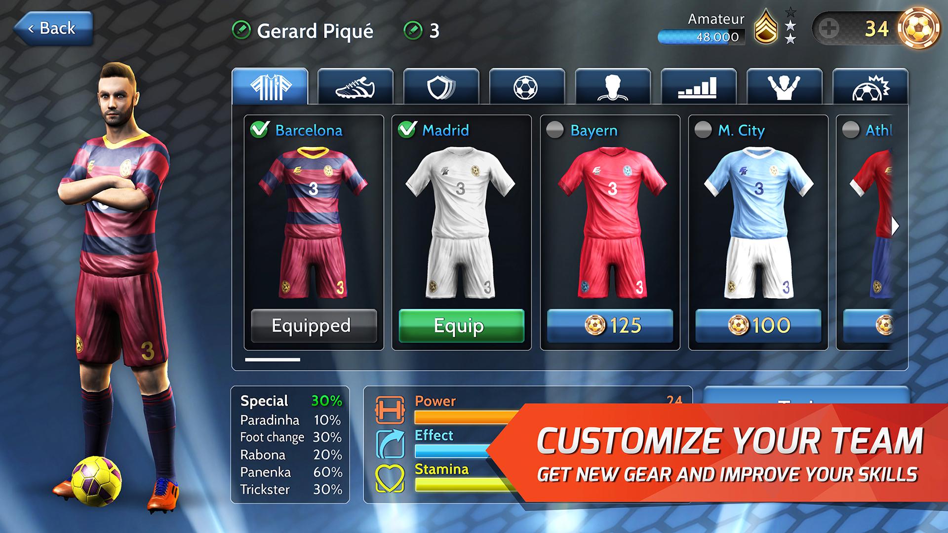 Final Kick: Online football screenshot 15