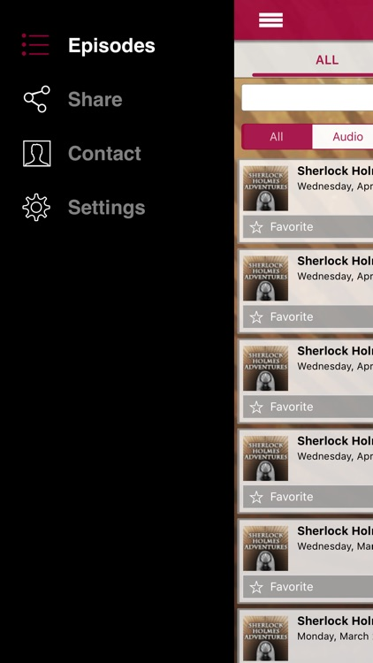 Sherlock Holmes Adventures - Old Time Radio App screenshot-3