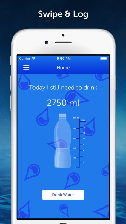 Drink Water Reminder N Tracker screenshot-0
