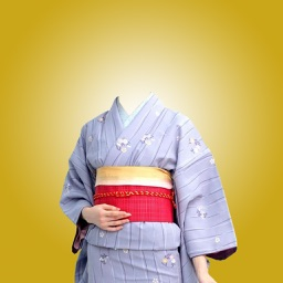 Kimono Photo Suit -Latest and new photo montage with own photo or camera