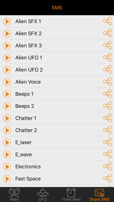 Alien Voice & UFO Soundboard Button: 90+ Sci-Fi Sound Effects of Robot  Chatter & Space Flying | App Price Drops