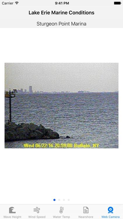 Lake Erie - Marine Conditions screenshot-4
