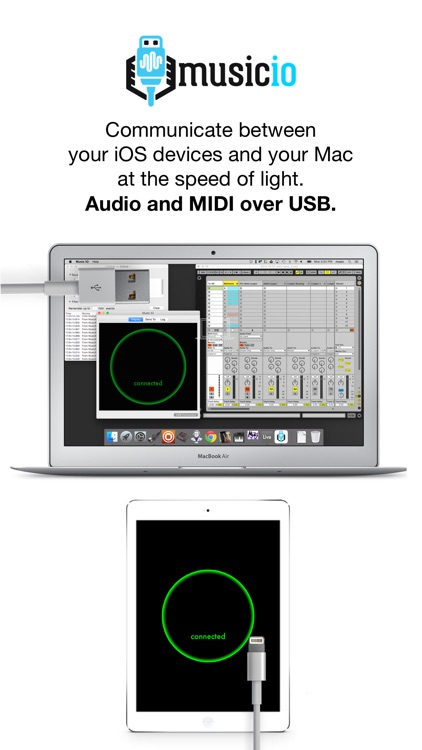 musicIO: Audio and MIDI over USB screenshot-0
