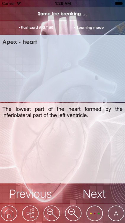 Cardiovascular Exam Review - Study Notes & Quiz - 3300 Flashcards Concepts & Q&A screenshot-4