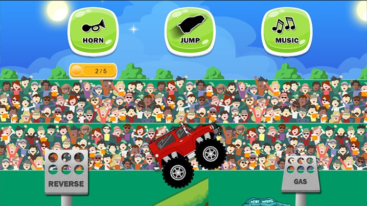 Monster Trucks Game For Toddlers And Kids By Chris Razmovski