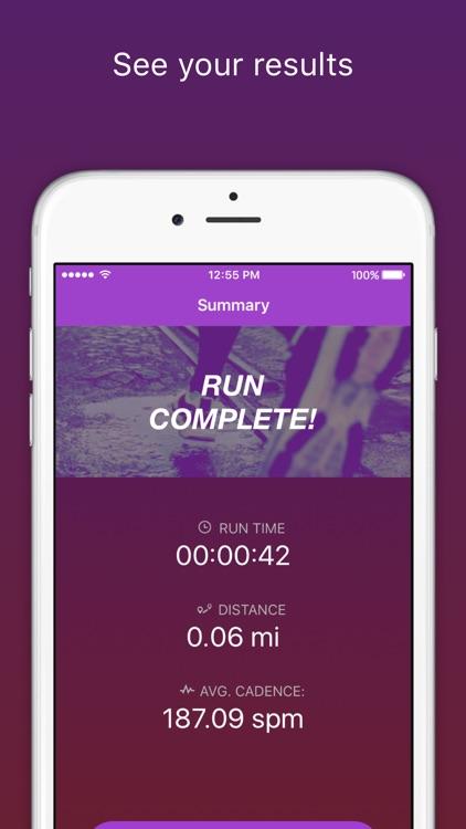 RunCadence Mobile screenshot-4