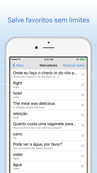 Dicionário Português-Inglês - Tradução screenshot four