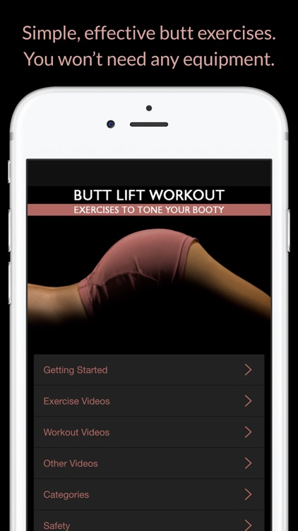 Butt Lift Workout: Exercises to Tone Your Booty screenshot-1