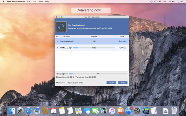 convert flv to mp4 mac free