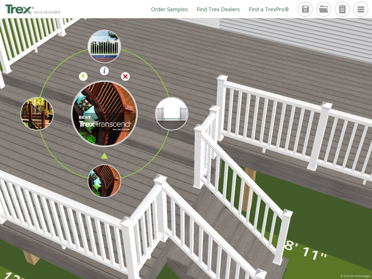 Trex Deck Designer App– Plan and create your Trex dream deck and outdoor living space! screenshot-3