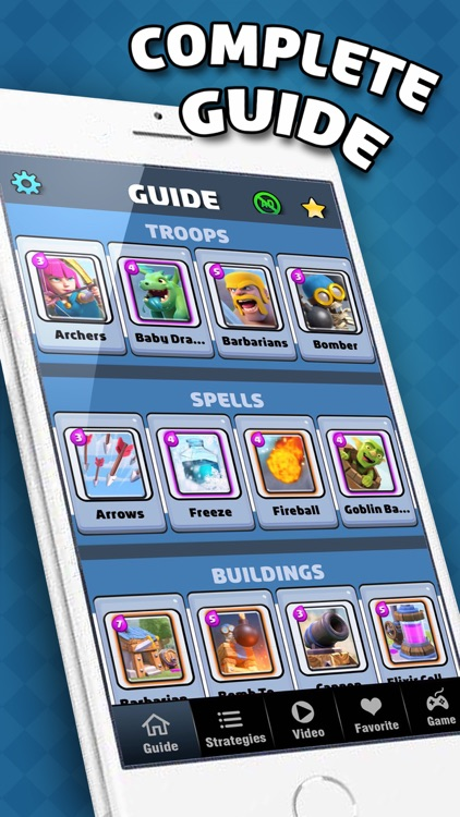 Gems Guide Pro - for Clash Royale : Deck Buidler, Chest Checker & Video