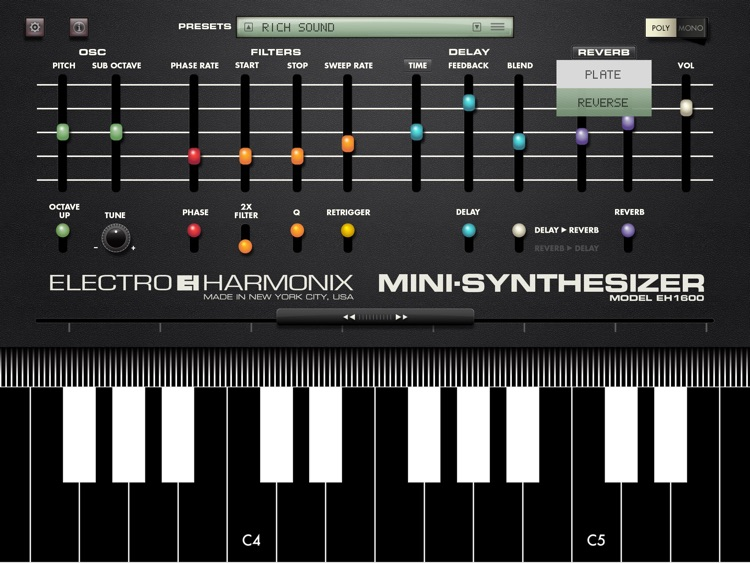 Mini Synthesizer screenshot-3