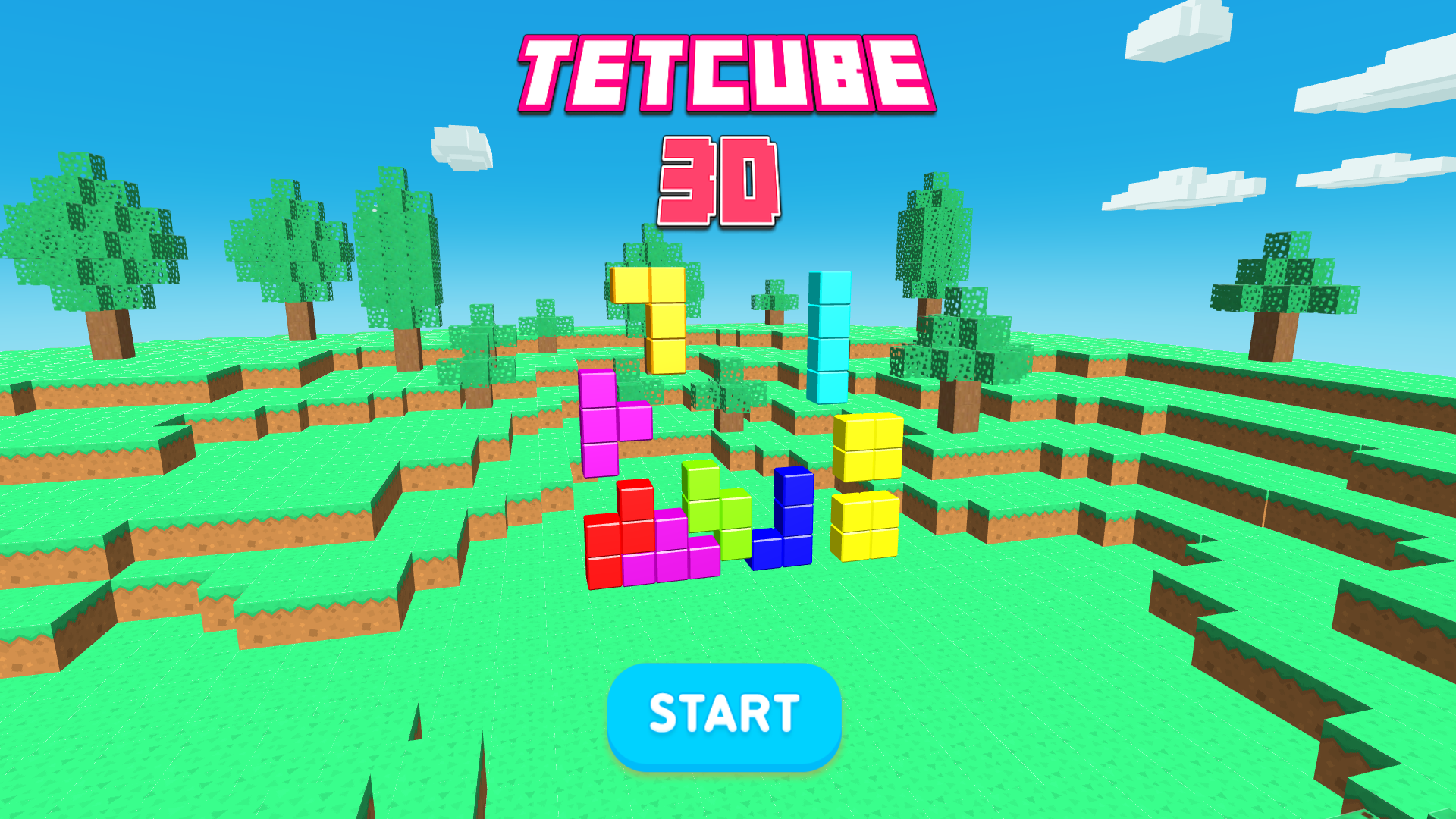 TETCUBE 3D for TV screenshot 2