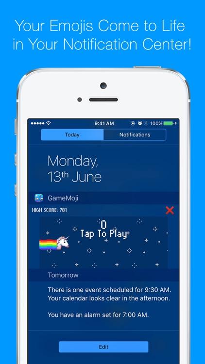 5-in-1 Emoji Widget Games - GameMoji screenshot-0