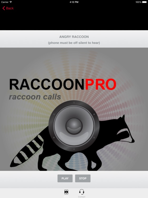 REAL Raccoon Calls & Raccoon Sounds for Raccoon Hunting screenshot-0