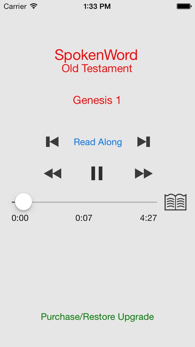 SpokenWord Audio Bible - Old Testament
