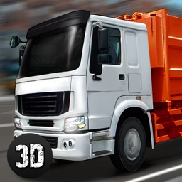 City Garbage Truck Driving Simulator 3D Full