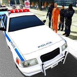 Cop Car Driver 3D Simulator - Police Chase Smash!