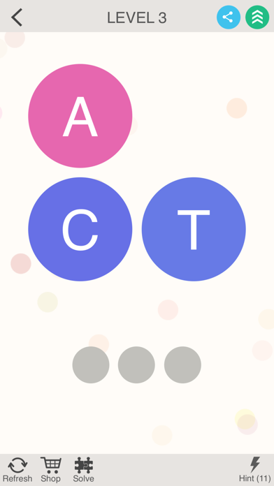 Word Puzzle - Brain Trainer screenshot two