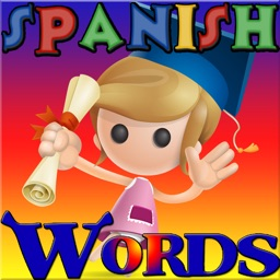 100 First Easy Words: Learning Spanish Vocabulary Games for Kids, Toddler, Preschool and Kindergarten