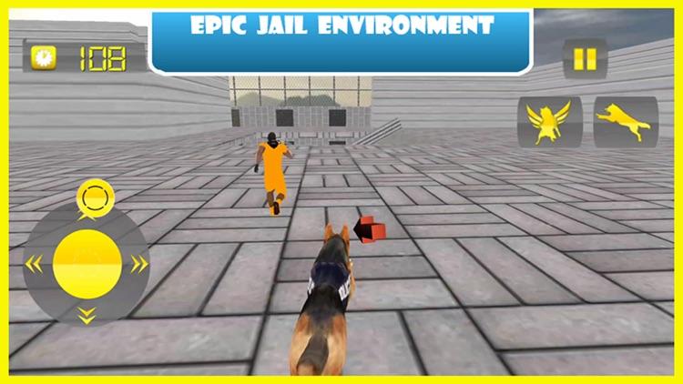 Flying Police Dog Prison Break - Prisoner Escape Jail Breakout Mission from Alcatraz screenshot-3