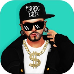 Thug Life Photo Sticker Maker - Photo Editor with ThugLife Stickers & Tattoo