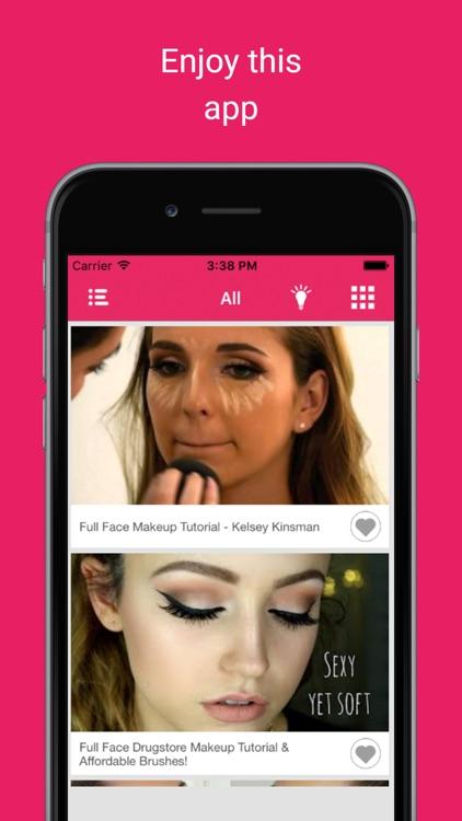 Latest home makeups: Women skin care beauty trends screenshot-4