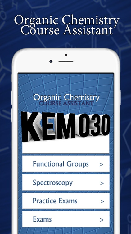 KEM030 – Organic Chemistry Course Assistant screenshot-0