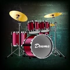Virtuelles Schlagzeug - Drum Set