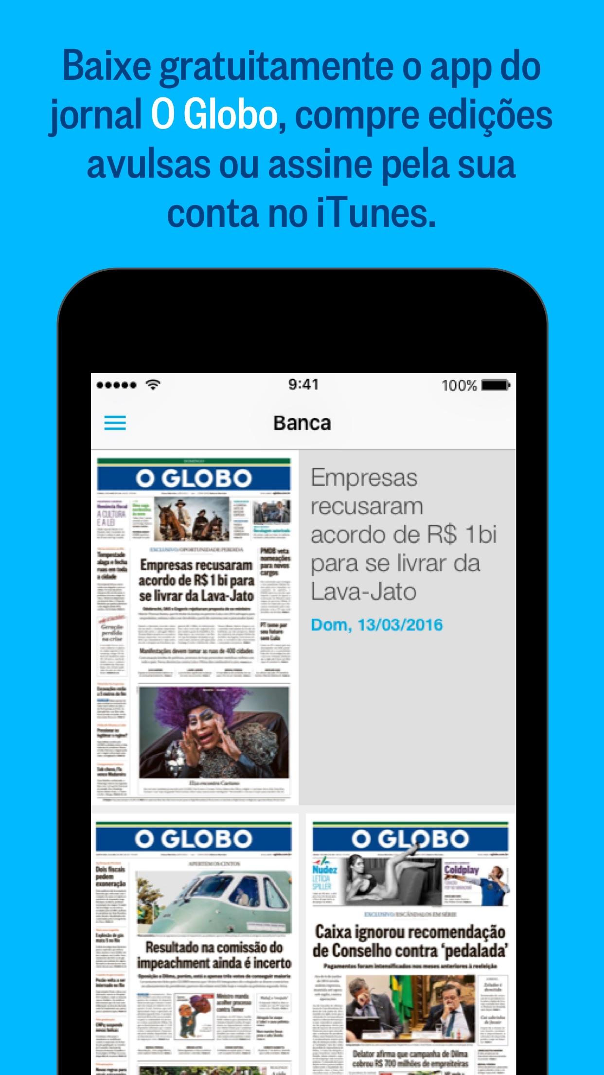 O Globo Screenshot