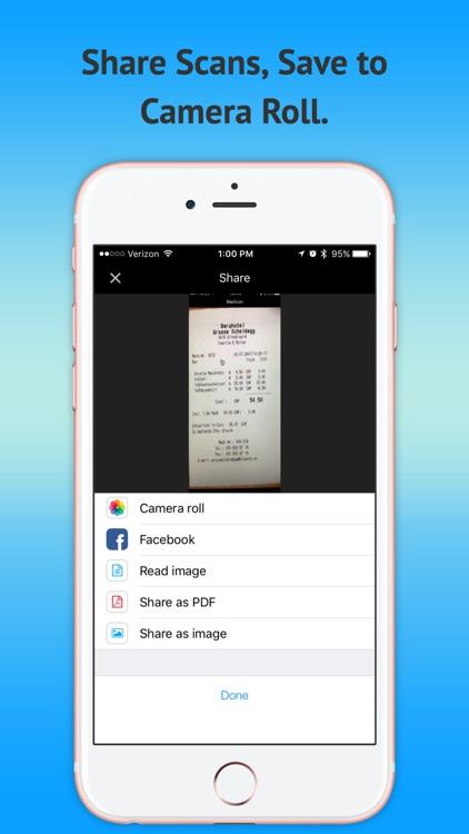Mobile OCR Scanner-PDF Free screenshot-4