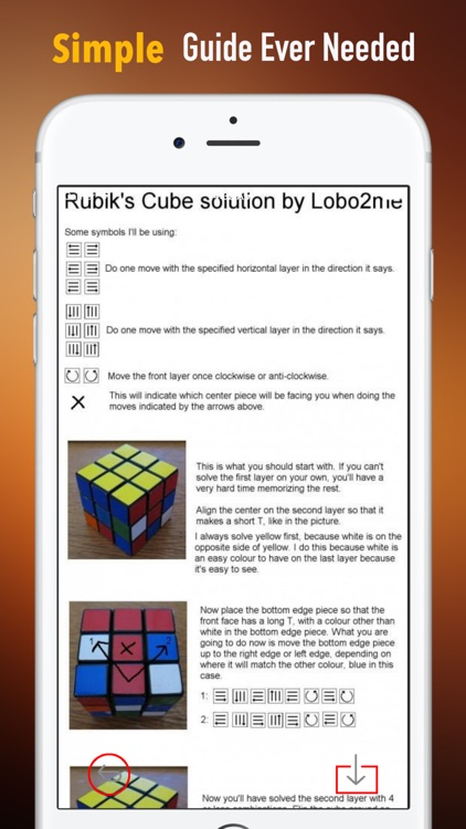 How to Solve a Rubik's Cube:Guide and Tips screenshot-1