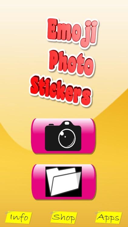 Emoji Photo Stickers & Paint screenshot-4