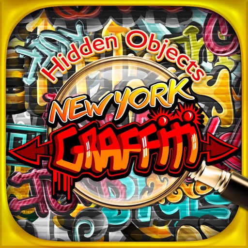 New York Graffiti Hidden Object - Pic Puzzle Spot Differences Spy Objects Kids Fun Game