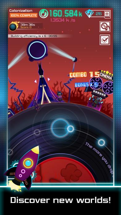 Groove Galaxy screenshot one