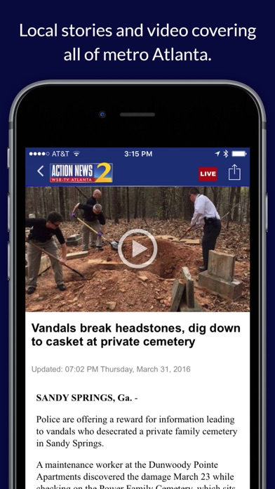 WSB-TV News for Windows