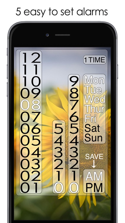 Beautiful Clock Radio Alarm