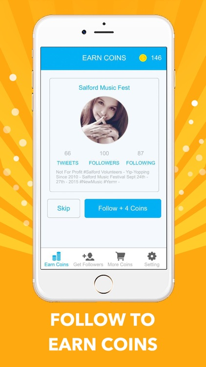 Get Followers for Twitter - More Real Free Twitter Followers by