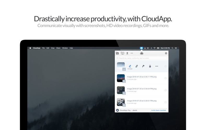 CloudApp - Screen Recorder Screenshot