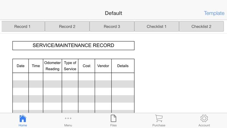 Vehicle Maintenance screenshot-4