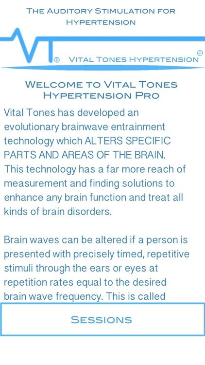 Vital Tones Hypertension Pro
