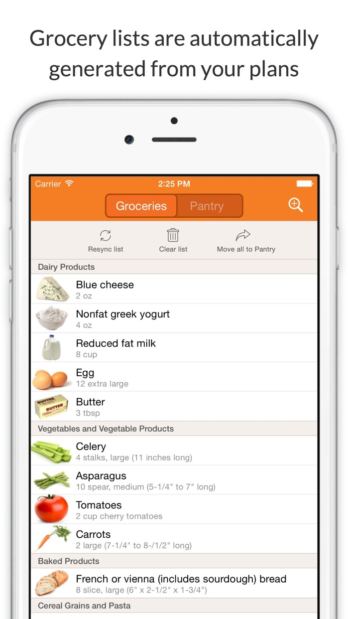 Eat This Much - Meal Planner Screenshot